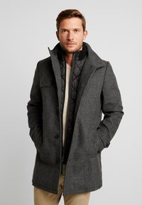 TOM TAILOR - 2 IN 1 - Classic coat - dark grey - 0