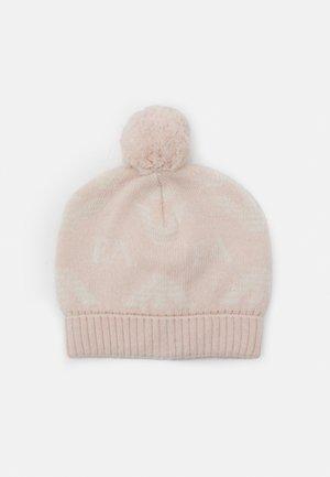 UNISEX - Beanie - pink/white