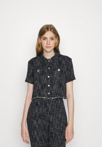CILAGA - Button-down blouse - marine