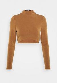 Fashion Union - ANTOINETTE - Top sdlouhým rukávem - pecan - 4