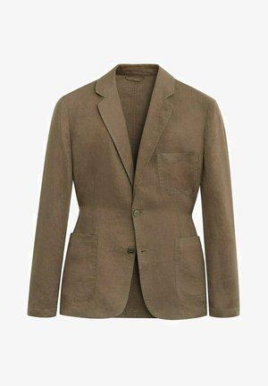 BISLAVE - blazer - marrón medio