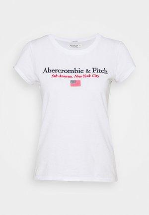 DESTINATION - T-shirt print - white