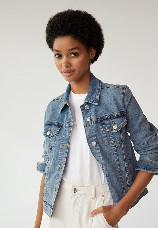 VICKY - Denim jacket - bleu moyen
