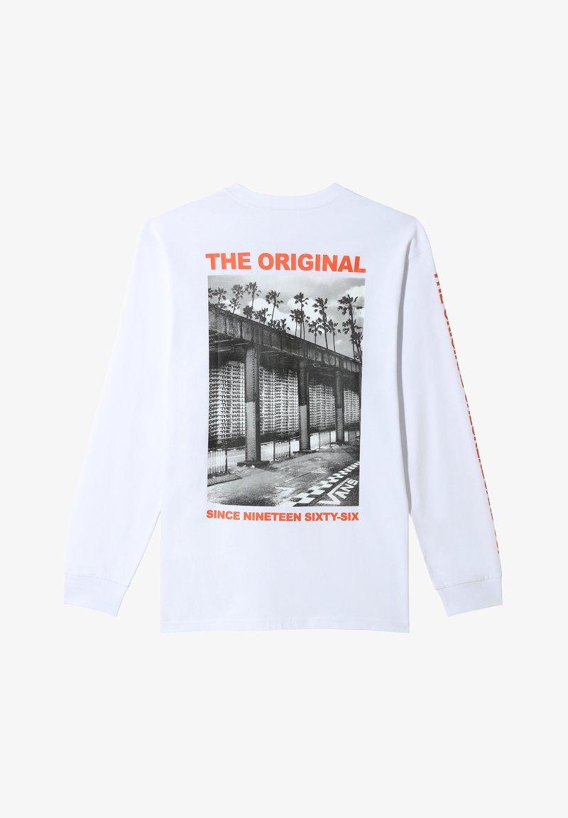Vans - Print T-shirt - white