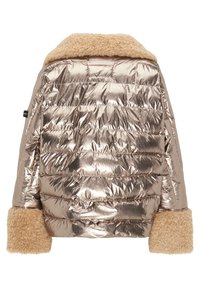 Frieda & Freddies - STEPPJACKE VANESSA MIT OVERSIZE SCHNITT - Winter jacket - gold - 7