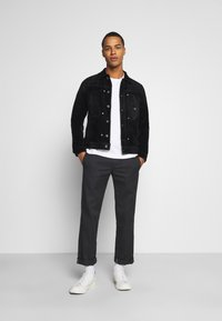 G-Star - SCUTAR SLIMJKT - Summer jacket - black iced flock