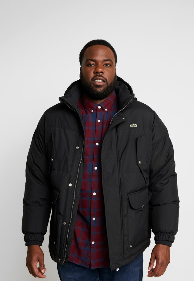 PLUS  - Down jacket - black