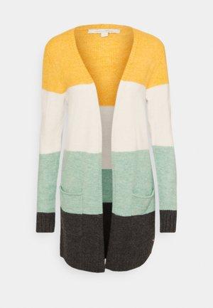 COSY BASIC  - Cardigan - mint colourblock