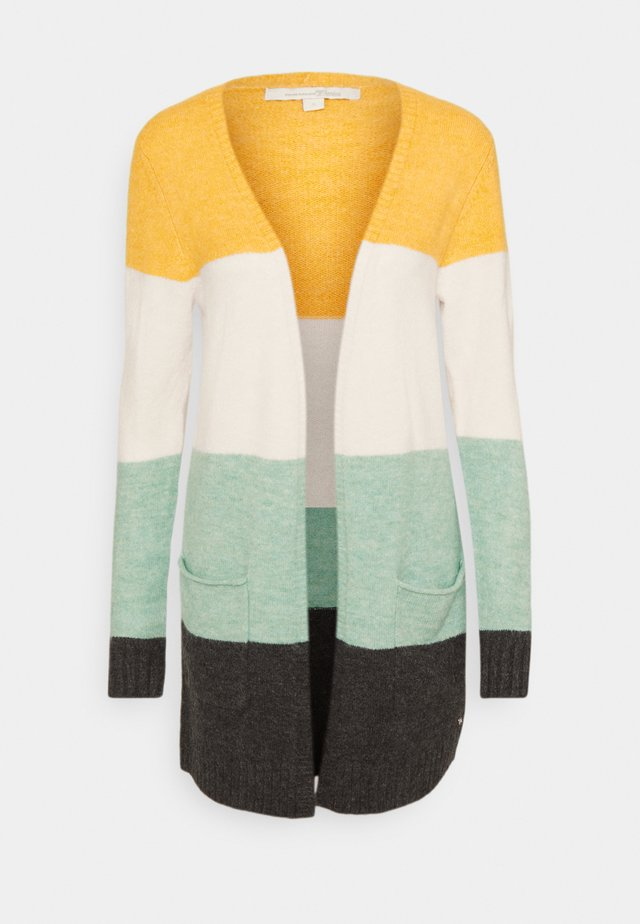 COSY BASIC  - Cardigan - mint colourblock