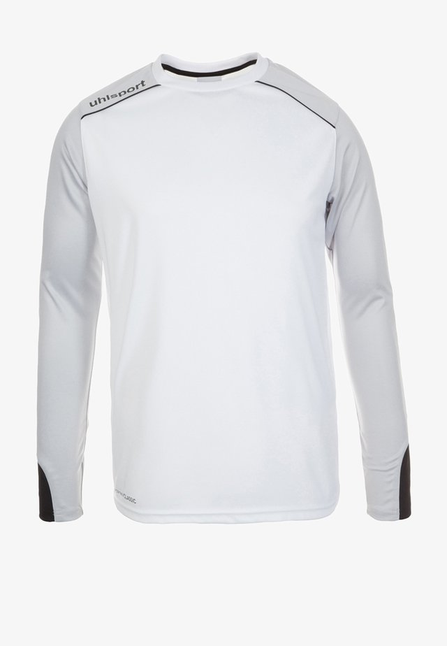 TOWER - Goalkeeper shirt - white/black
