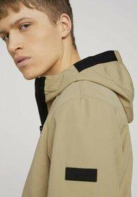 TOM TAILOR - Light jacket - smoked beige - 3