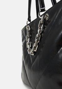 ALDO - YBORELLE - Tote bag - black/silver-coloured - 3