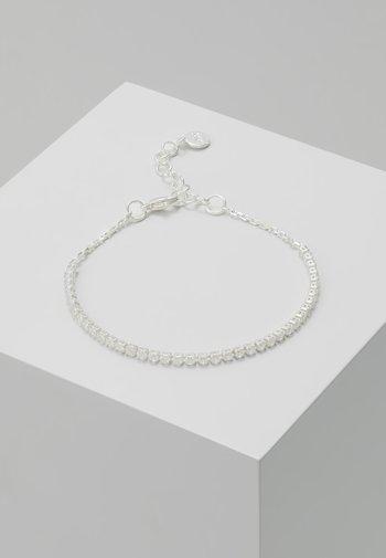 CLARISSA SMALL BRACE - Bracelet - silver-coloured/clear