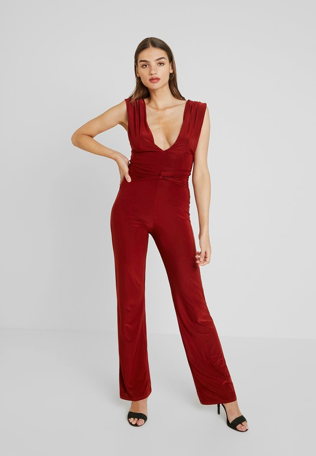 Overall / Jumpsuit - rust