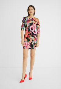 Desigual - DESIGNED BY MARIA ESCOTÉ: - Vestido de punto - multi-coloured - 1