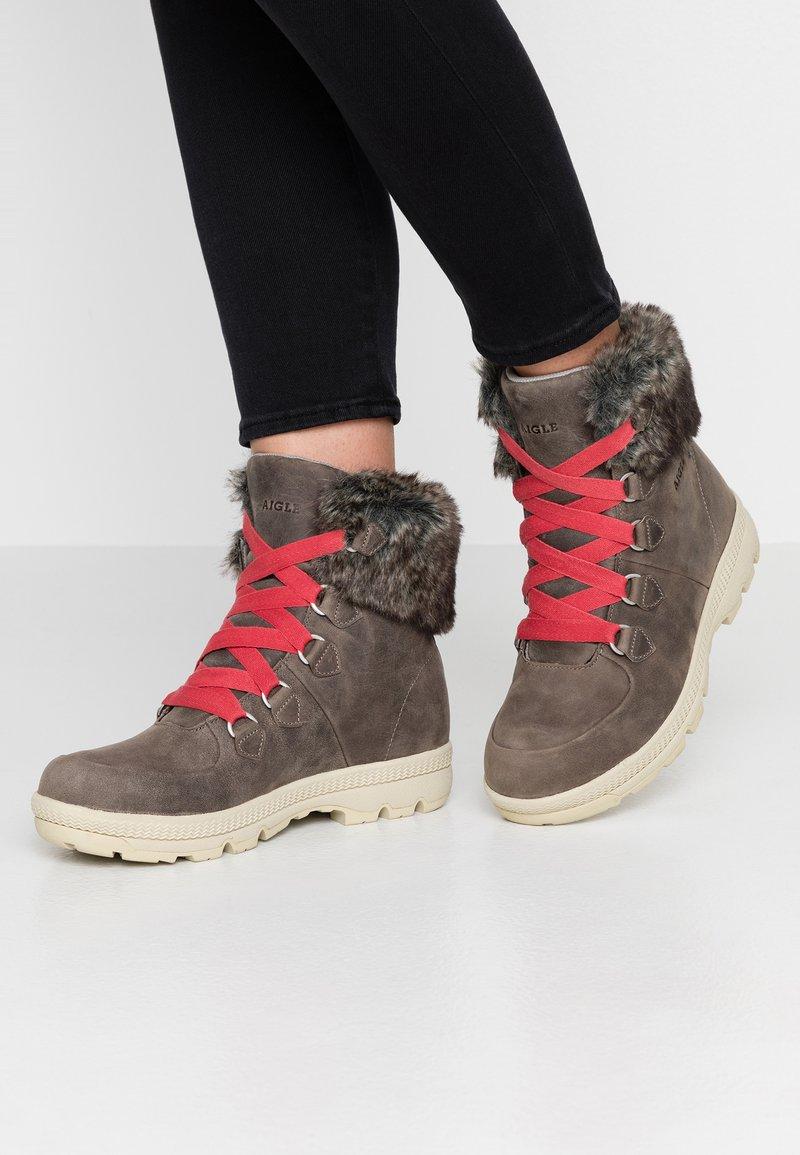 Aigle - TENERE LIGHT RETRO  - Snowboots  - grey