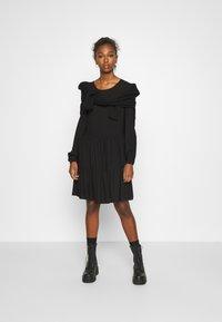 JDY - JDYPEANUT DRESS - Day dress - black - 1