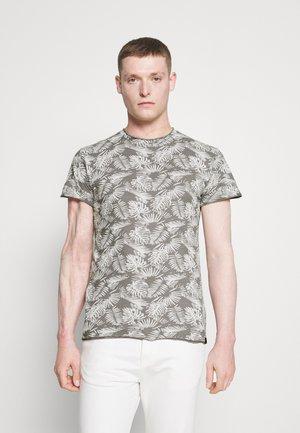 KEEN - T-shirt med print - grey