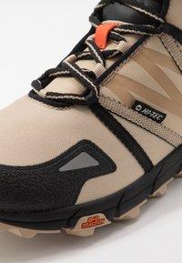Hi-Tec - V-LITE SHIFT I+ - Hiking shoes - desert tan/black/red orange - 5