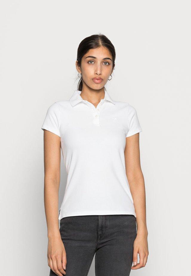 SHORT SLEEVE CORE - Koszulka polo - white