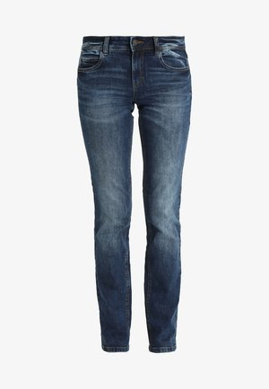 ALEXA - Džíny Straight Fit - mid stone wash denim blue