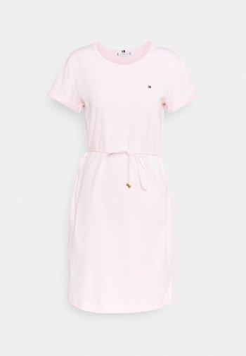 COOL SHORT DRESS - Jersey dress - light pink