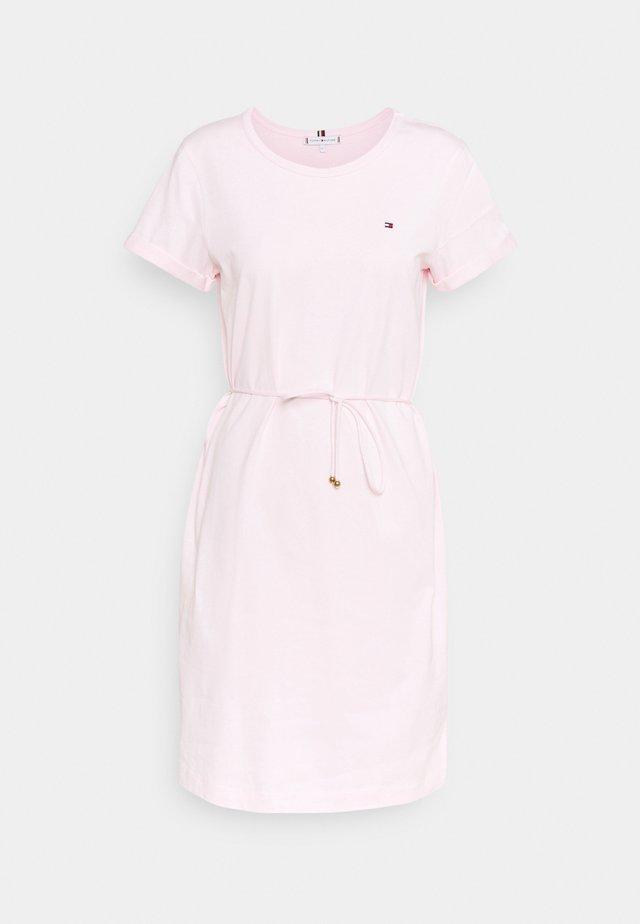 COOL SHORT DRESS - Robe en jersey - light pink