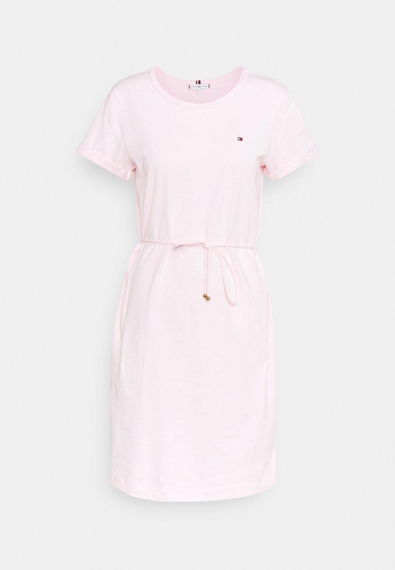 Tommy Hilfiger - COOL SHORT DRESS - Jersey dress - light pink