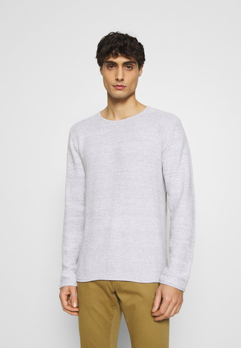 INDICODE JEANS - KRISTAN - Stickad tröja - optical white