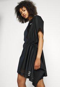 adidas Originals - TEE DRESS - Vestido informal - black - 4