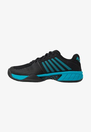EXPRESS LIGHT 2 HB - Clay court tennis shoes - black/algiers blue