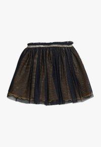 3 Pommes - SKIRT - Veckad kjol - midnight blue - 1