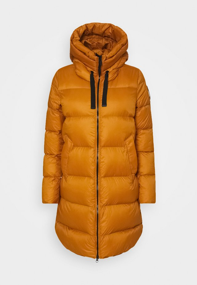 Down coat - inca gold
