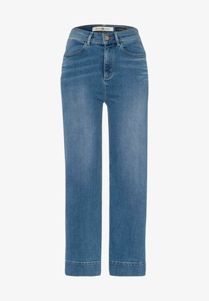 Straight leg jeans - stoned blue