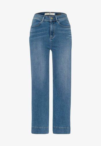 Straight leg jeans - stoned blue