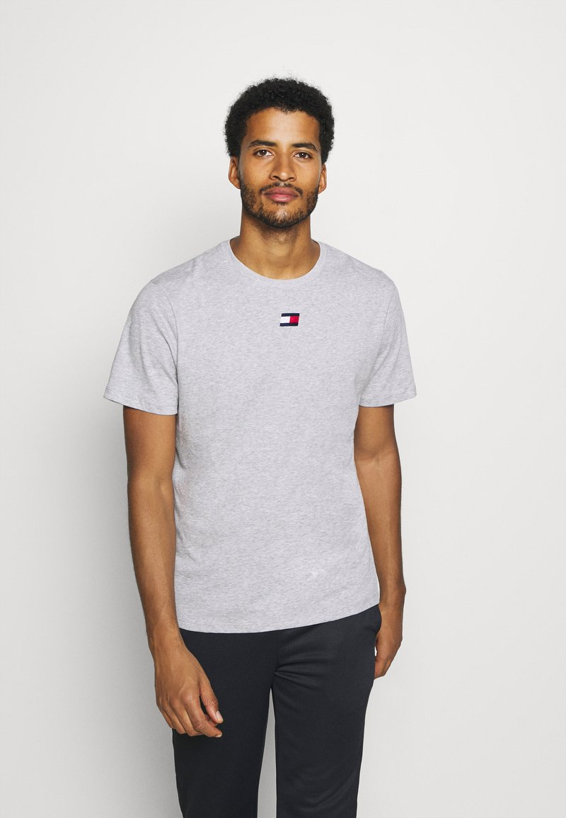 Tommy Hilfiger - LOGO TEE - Sports shirt - grey