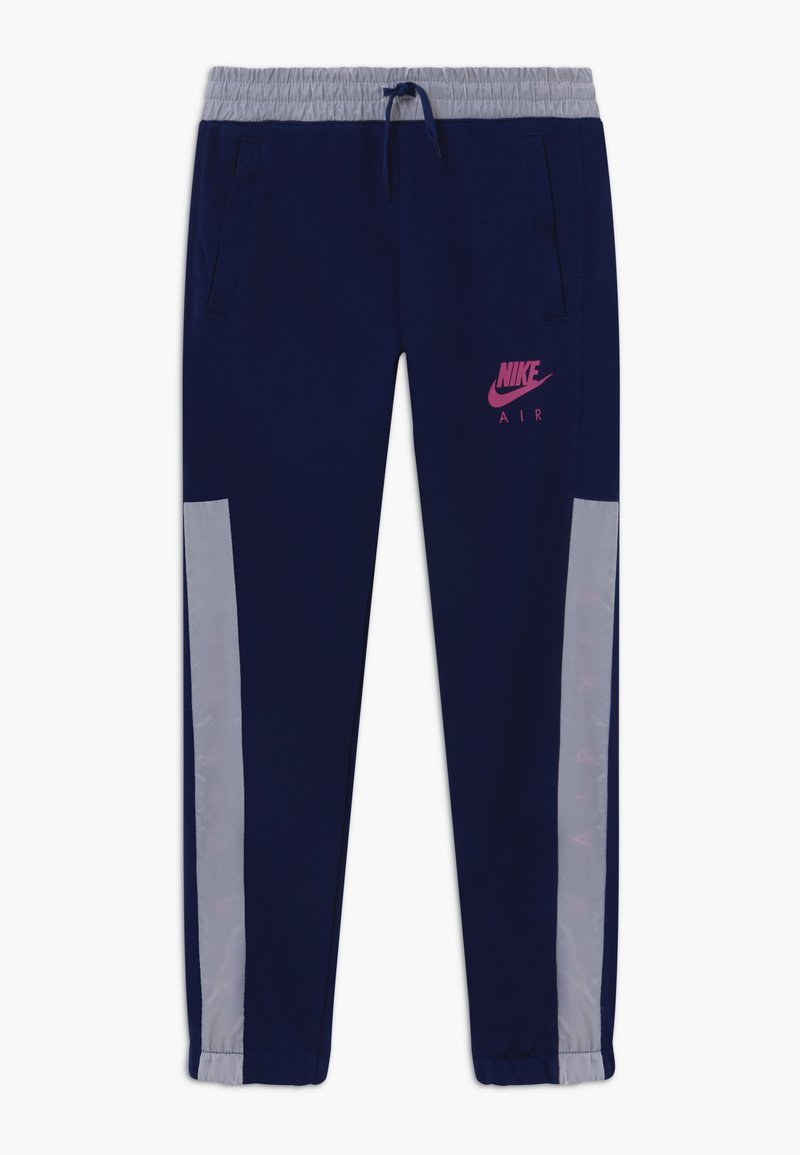 Nike Sportswear - Tracksuit bottoms - blue void/white/fire pink