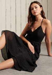 Superdry - MARGAUX - Maxi dress - black - 2