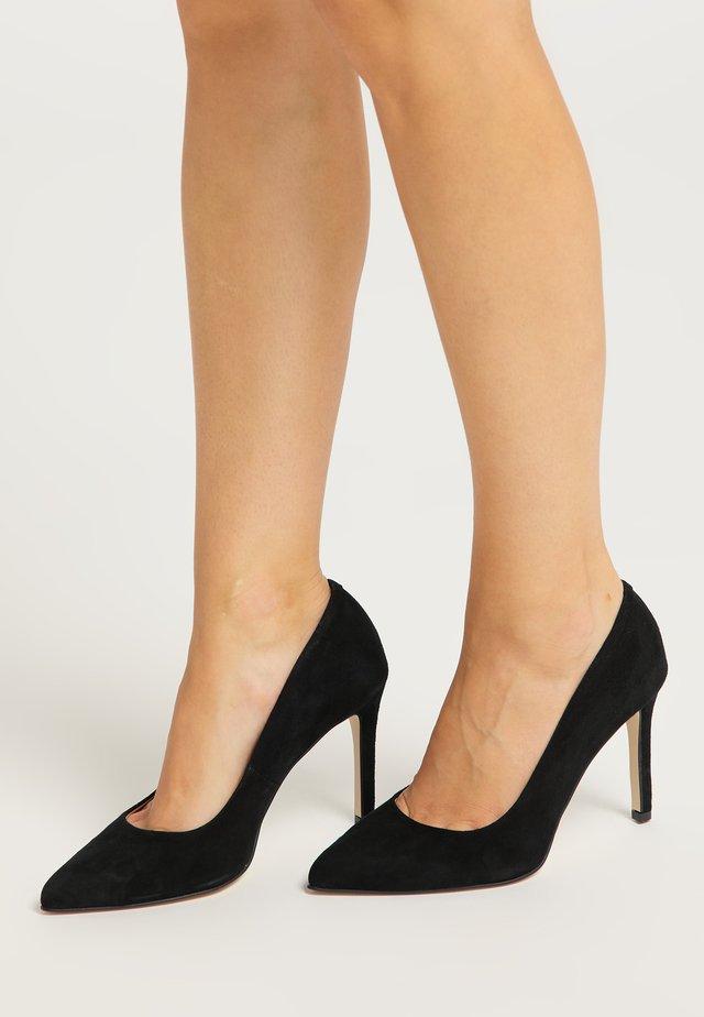 Zapatos altos - schwarz