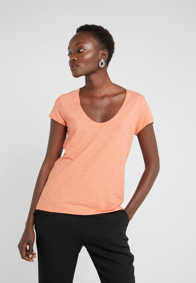 AVIVI - T-shirt basic - coral
