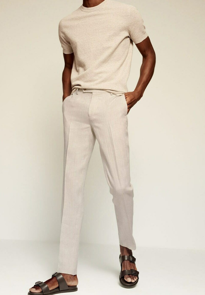 Mango - FLORIDA - Chinos - open beige