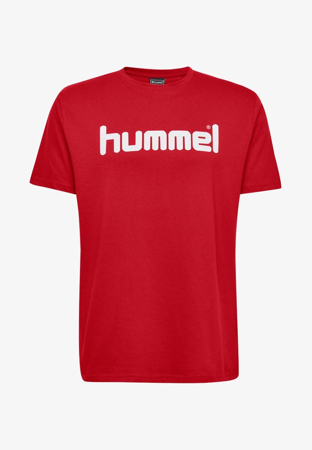 HMLGO - T-shirt print - red