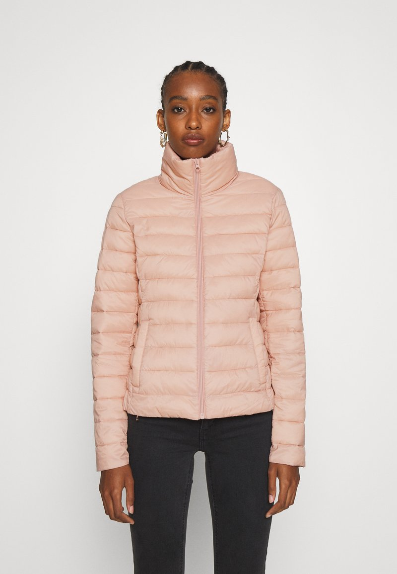 Vila - VISIBIRIA SHORT JACKET - Light jacket - misty rose