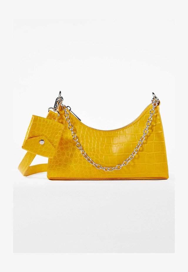 Kabelka - mustard yellow