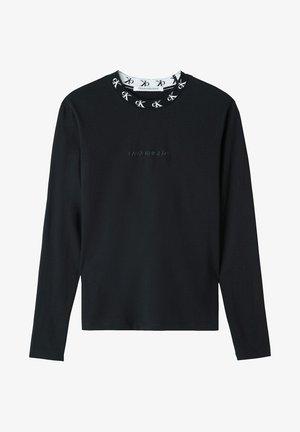 Long sleeved top - ck black