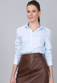 Basics and More - Button-down blouse - turquoise - 2