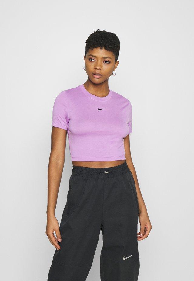 TEE SLIM - Basic T-shirt - violet shock