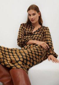 Mango - SABI - A-line skirt - karamell - 5