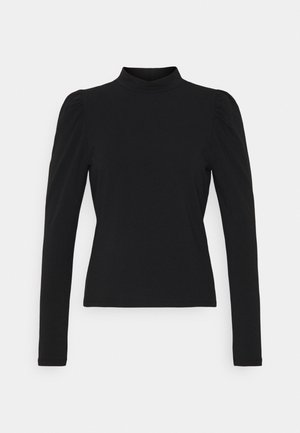 LIVE LOVE HIGH PUFF - Long sleeved top - black