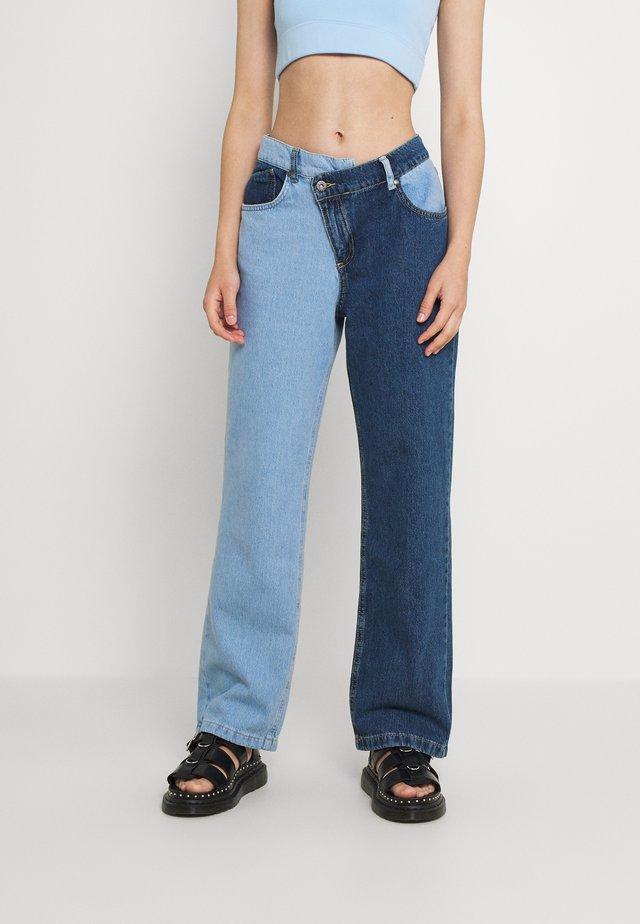 FOLK - Straight leg jeans - mix blue